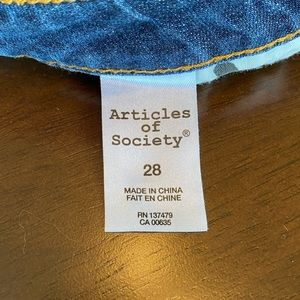Articles Of Society Jeans - Articles of Society Skinny Jeans